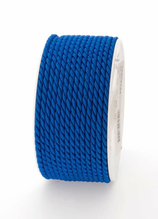 Kordel, königsblau, 6 mm stark - kordeln, andere-baender
