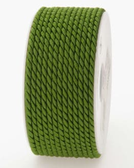 Kordel, olivgrün, 6 mm stark - kordeln, andere-baender
