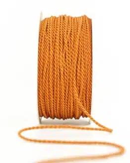 Kordel, orange, 2 mm stark - kordeln, andere-baender