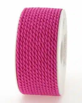 Kordel, rosa, 4 mm stark - kordeln, andere-baender