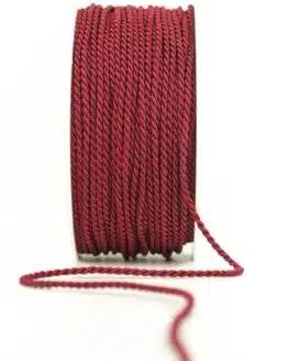 Kordel, bordeaux, 2 mm stark - kordeln, andere-baender
