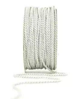 Kordel, silbergrau, 2 mm stark - kordeln, andere-baender