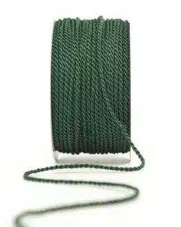 Kordel, tannengrün, 2 mm stark - kordeln, andere-baender