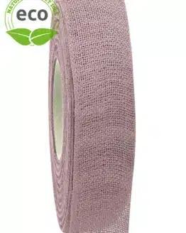 Nature Basic Leinenband, flieder, 25 mm breit, ECO - kompostierbare-geschenkbaender, geschenkband, eco-baender, dekoband
