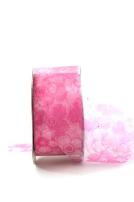 Organzaband_mit_Blueten_pink_5942764003420