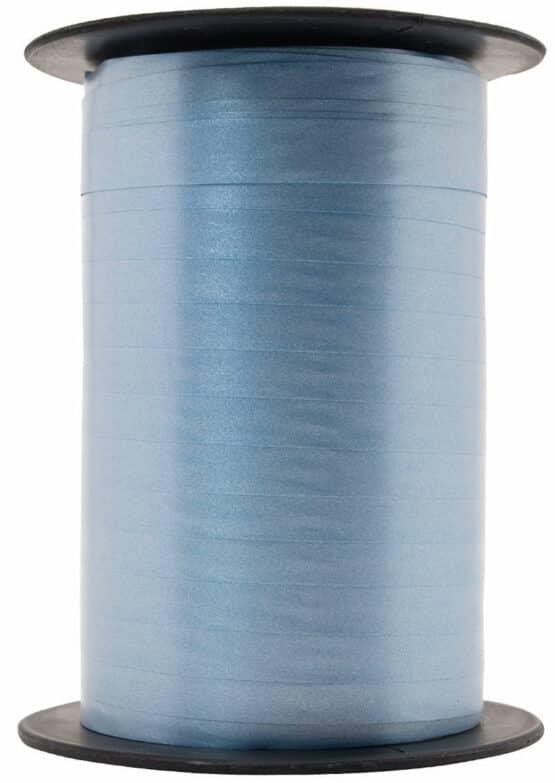 Papermat Kräuselband, hellblau, 10 mm breit - polyband, geschenkband