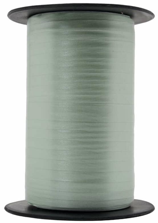 Papermat Kräuselband, hellgrün, 10 mm breit - polyband, geschenkband