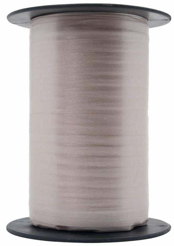 Papermat Kräuselband, taupe, 10 mm breit - polyband, geschenkband