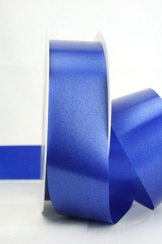Wetterfestes Schleifenband blau, 40 mm - polyband, outdoor-bander