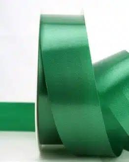 Wetterfestes Schleifenband grün, 40 mm - polyband, outdoor-bander