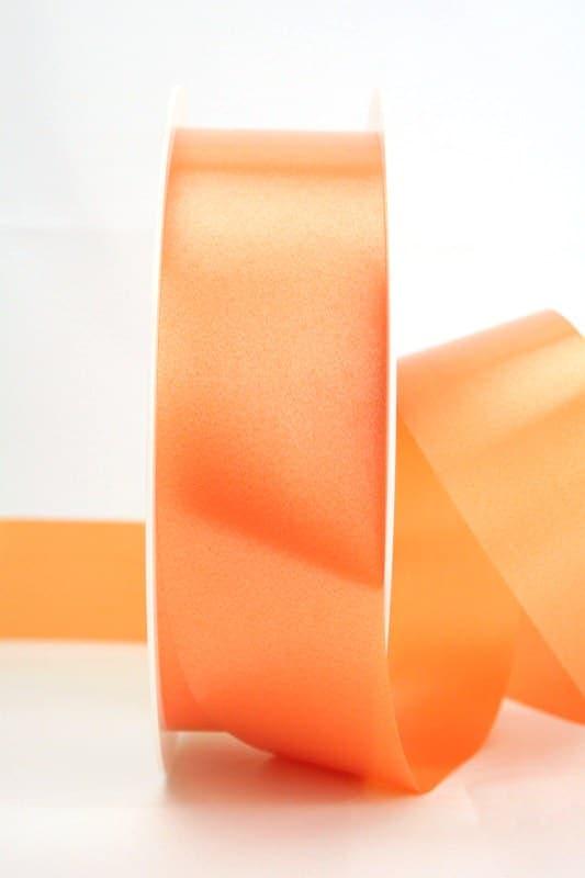 Wetterfestes Schleifenband orange, 40 mm - polyband, outdoor-bander