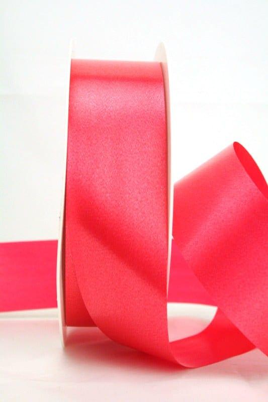 Wetterfestes Schleifenband rot, 40 mm - polyband, outdoor-bander