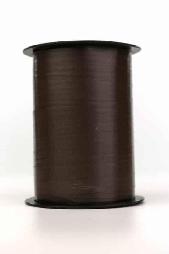 Polyband / Kräuselband, schwarz, 10 mm breit - polyband