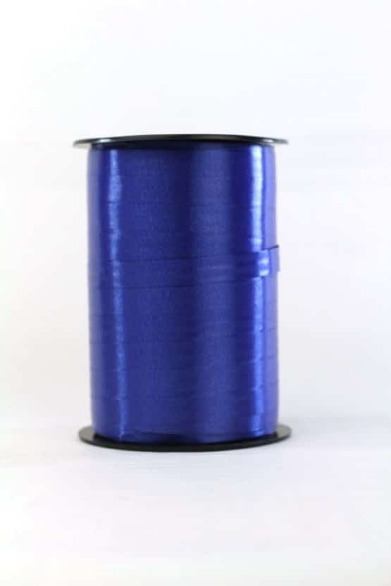 Polyband / Kräuselband, dunkelblau, 10 mm breit - polyband