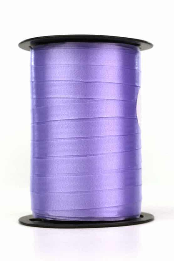 Polyband / Kräuselband, flieder, 10 mm breit - polyband