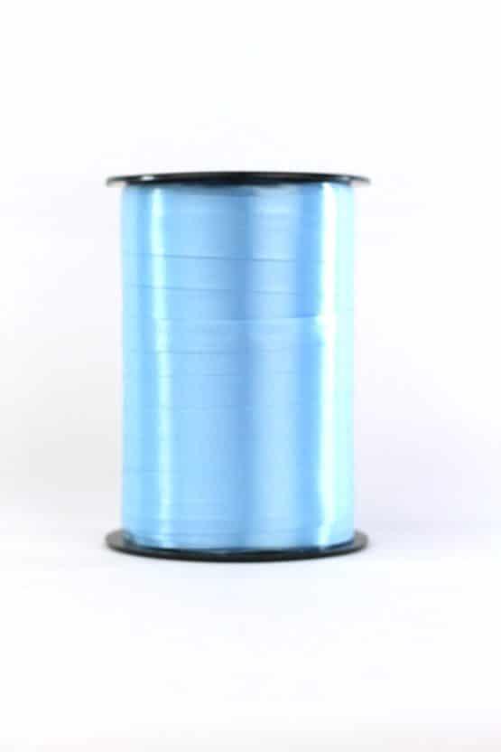 Polyband / Kräuselband, hellblau, 10 mm breit - polyband
