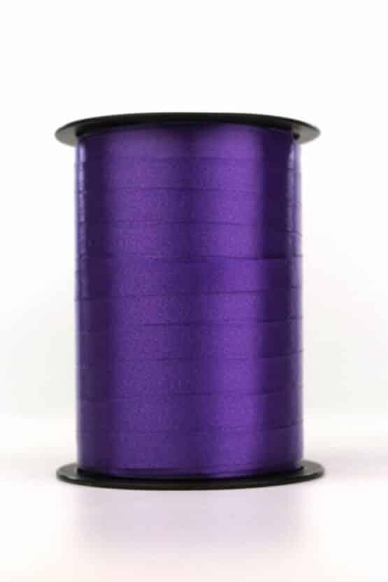 Polyband / Kräuselband, lila, 10 mm breit - polyband