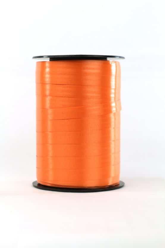 Polyband / Kräuselband, orange, 10 mm breit - polyband