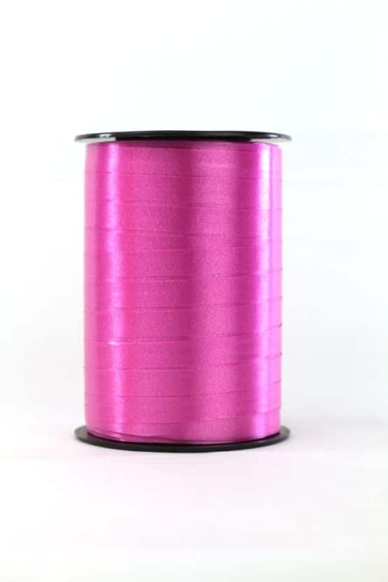 Polyband / Kräuselband, pink, 10 mm breit - polyband