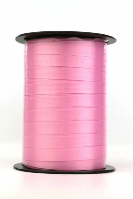 Polyband / Kräuselband, rosa, 10 mm breit - polyband