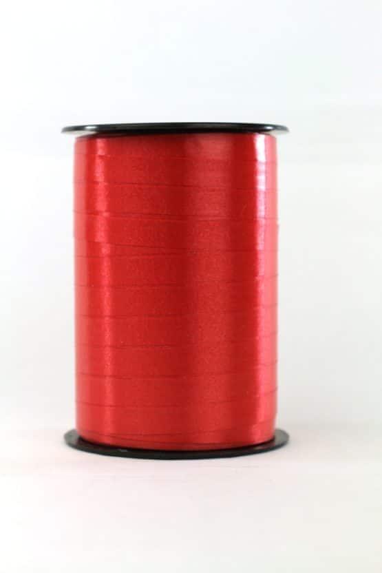 Polyband / Kräuselband, rot, 5 mm breit - polyband