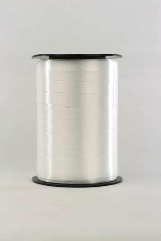 Polyband / Kräuselband, weiß, 10 mm breit - polyband
