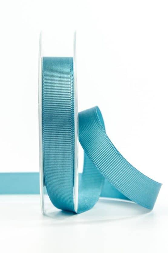 Ripsband, türkis, 15 mm breit - geschenkband, geschenkband-einfarbig
