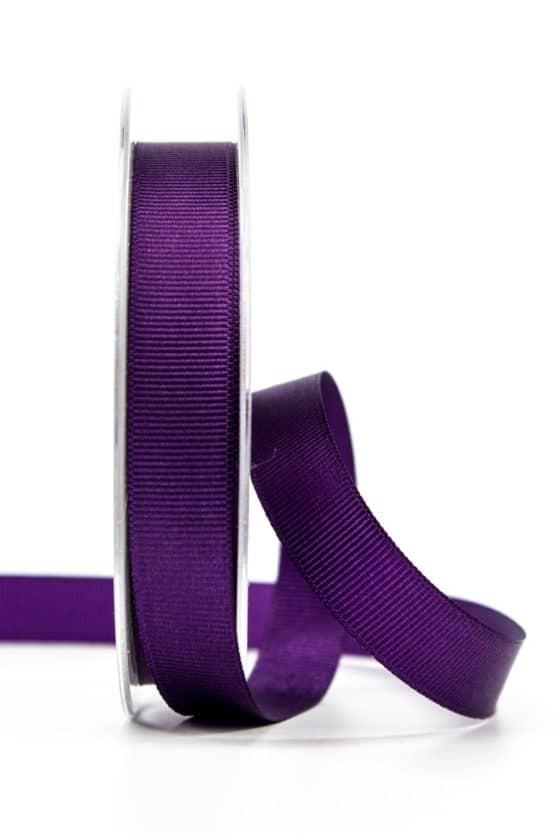 Ripsband, lila, 15 mm breit - geschenkband, geschenkband-einfarbig