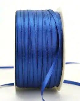 Satinband 3mm, uni königsblau - satinband-budget, sonderangebot, satinband