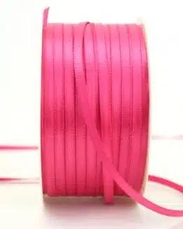 Satinband 3mm, uni pink - sonderangebot, satinband, satinband-budget