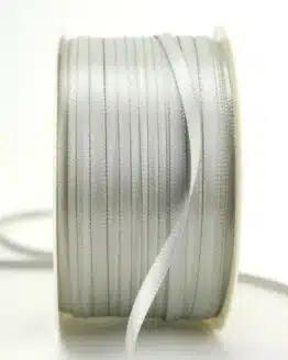 Satinband 3mm, uni grau - sonderangebot, satinband, satinband-budget