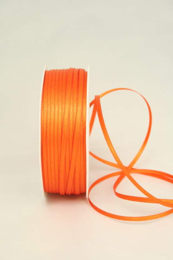Satinband 3 mm breit - satinband, satinband-dauersortiment, dauersortiment