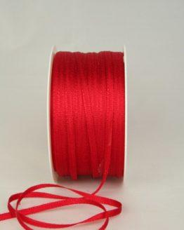 Satinband 3mm, uni rot - satinband-budget, sonderangebot, satinband