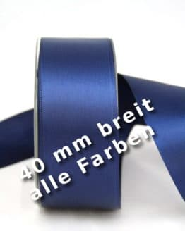 Satinband 40 mm breit - satinband-dauersortiment, satinband, dauersortiment