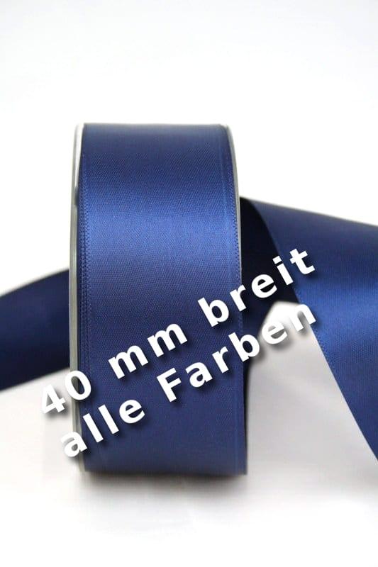 Satinband 40 mm breit - satinband, satinband-dauersortiment, dauersortiment