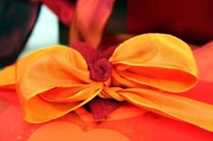 Geschenkband mit Drahtkante - zum formen und stylen - viskoseband, geschenkverpackungen, geschenke-leicht-eingepackt