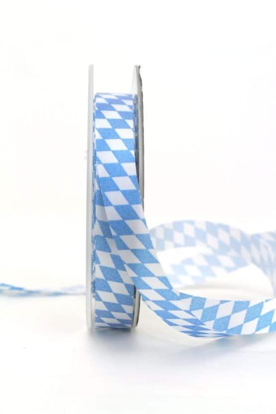 Dekoband Bayernraute, 15 mm - oktoberfest, nationalband, anlasse