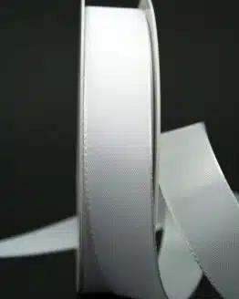 Schleifenband weiß, 25 mm breit - hochzeit, anlasse