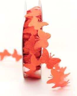 Schmetterlinggirlande, orange - dekogirlande