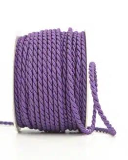 Kordel, lila, 4 mm stark - kordeln, andere-baender