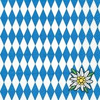 Serviette Bavaria - servietten, oktoberfest, anlasse