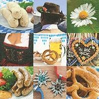 Serviette Oktoberfest - servietten, oktoberfest, anlasse