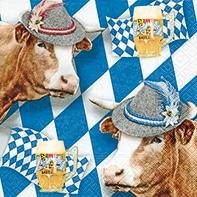 Serviette Wiesngaudi - servietten, oktoberfest, anlasse