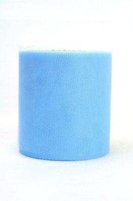 Tüll 100mm hellblau (40541-100-153)