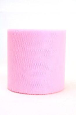Tüll 100mm rosa (40541-100-216)