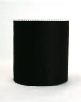 Tüll schwarz, 100 mm breit - tull, outdoor-bander