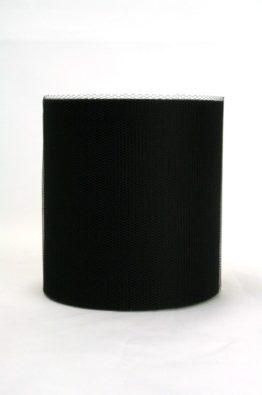 Tüll 100mm schwarz (40541-100-113)