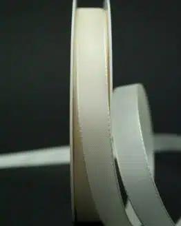 Schleifenband creme, 15 mm breit - hochzeit, anlasse