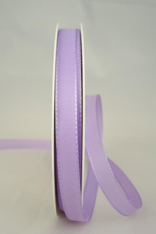 Taftband, flieder, 10 mm breit - taftband, sonderangebot