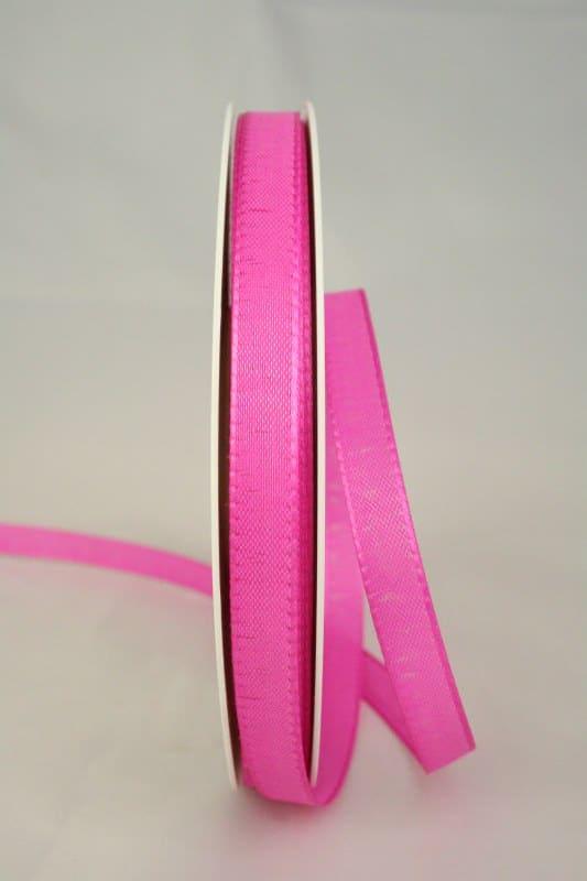 Taftband, pink, 10 mm breit - taftband, sonderangebot